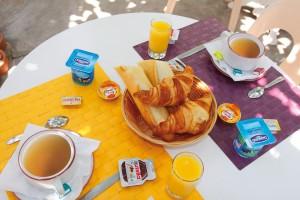 Petit Déjeuner Hôtel La Croix de Malte