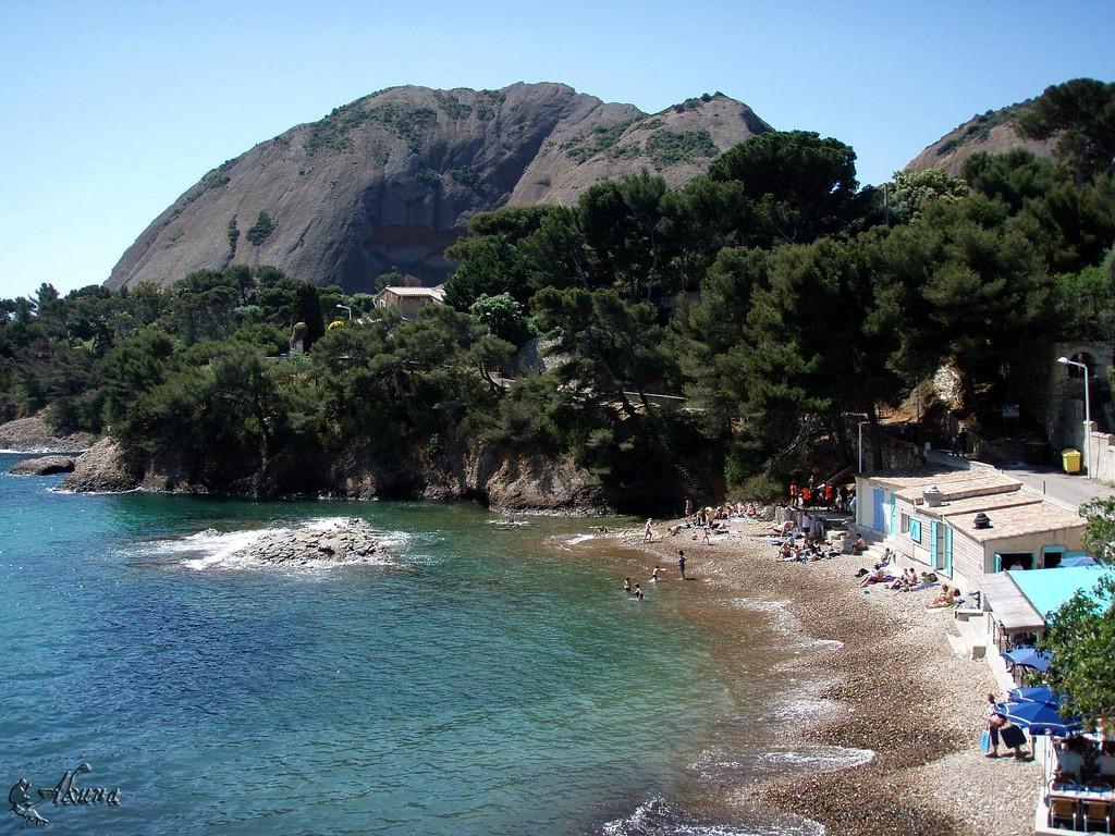 Les plages de la ciotat h tel la croix de malte - Restaurant ile verte la ciotat ...